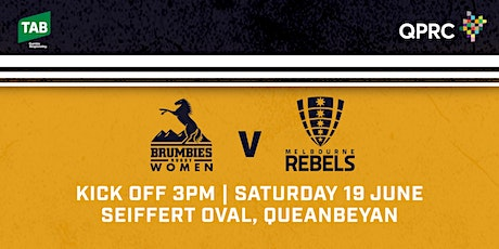 TABCORP Brumbies V Melbourne Rebels tickets
