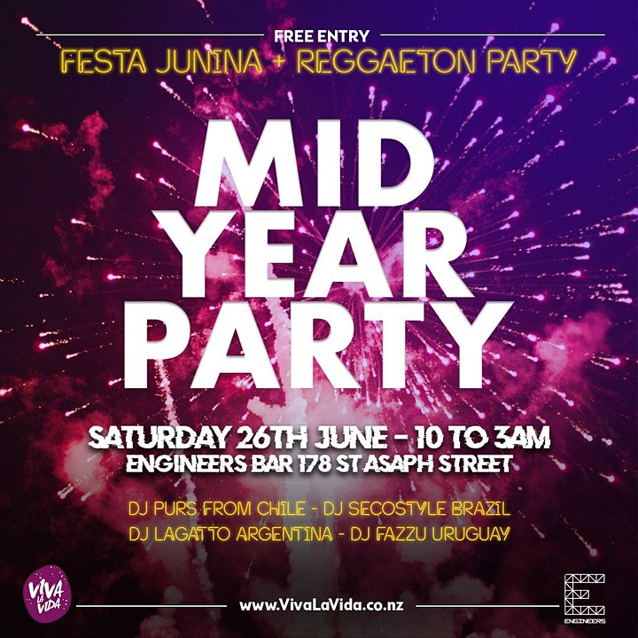 Mid Year Party - Festa Junina + Reggaeton image