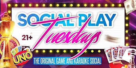 Free Game Night and Karaoke Social |@SocialPlayMiami tickets