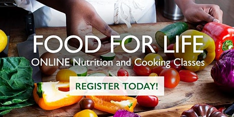 The Power of Your Plate - Virtual Cooking Class tickets