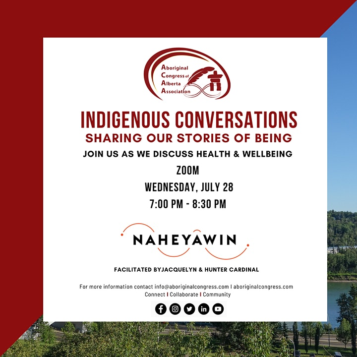 Indigenous Conversations: Health & Well-Being image