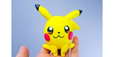 60min Learn to sculpt! Pikachu Clay Sculpting @2PM  (Ages 6+) tickets