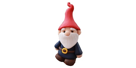 60min Learn to sculpt! Gnome Clay Sculpting @2PM  (Ages 6+) tickets