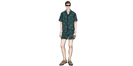 60min Fashion Sketching Lesson -  Men's Fashion @3PM (Ages 7+) tickets