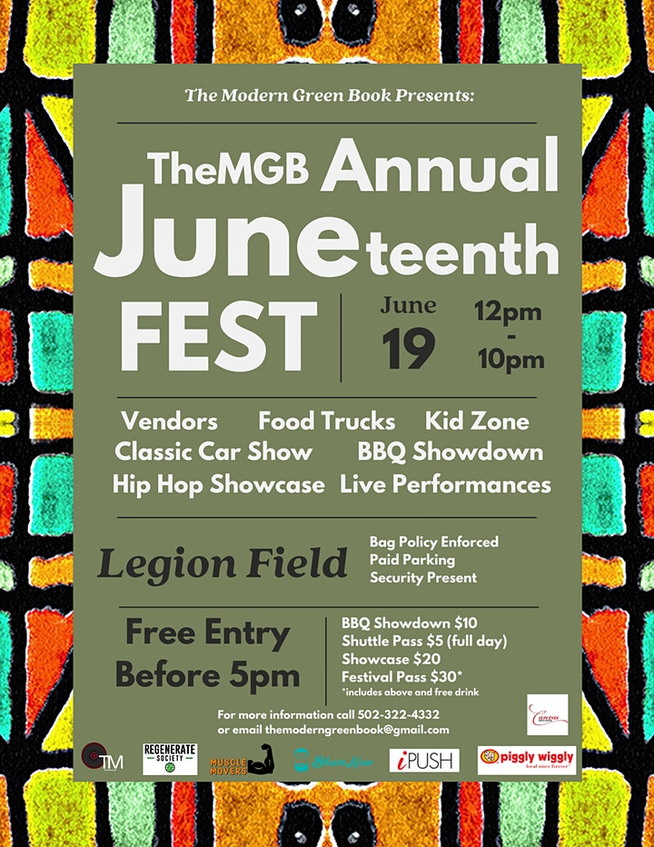 TheMGB 1st Annual Juneteenth Fest image