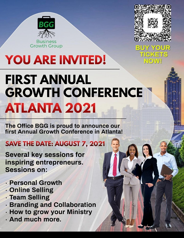 First Business Growth Group Conference in Atlanta, GA image