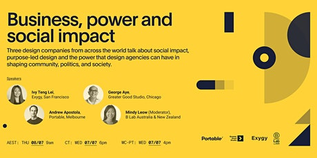 Business, Power and Social Impact tickets