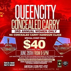 3rd Annual Women Only Concealed Carry class tickets