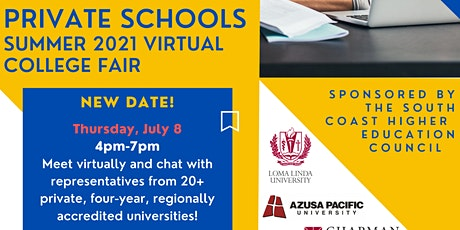 Pathways to Private Schools - College Expo tickets