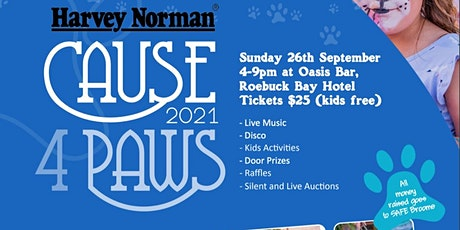 Harvey Norman Cause 4 Paws 2021 tickets