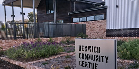 Renwick Community Centre - Book a site tour on the official opening day! tickets