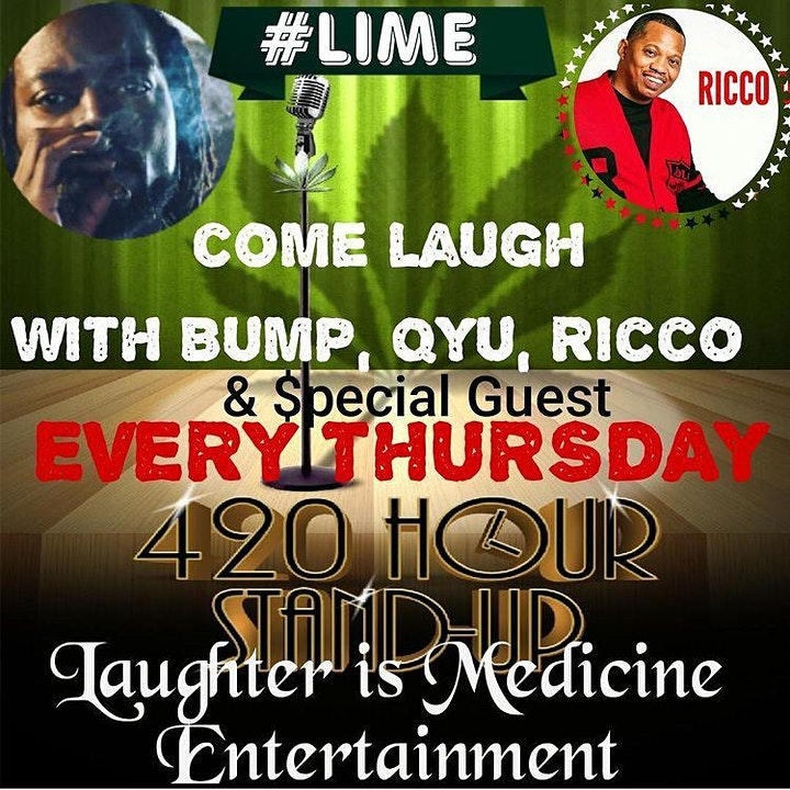 Bump Geesus presents Laughter is Medicine Comedy Tour image