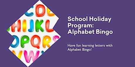 Alphabet Bingo @ Burnie Library tickets