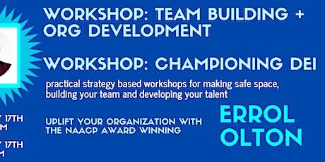 Team Building + Organizational Development tickets