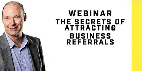 Business Referrals - Grow Your Business with a Referral Marketing Strategy. tickets