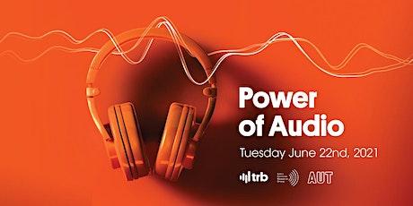 Power of Audio tickets