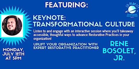 Transformational Culture Keynote: Leadership tickets