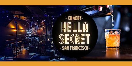 HellaSecret Comedy & Summer Cocktail Night 2021 (SF) tickets