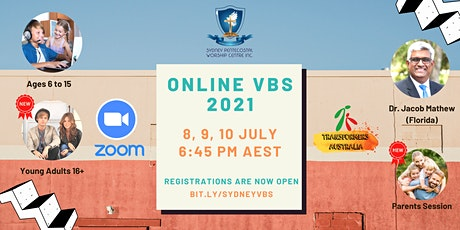 Sydney Pentecostal Worship Centre Online VBS 2021 tickets