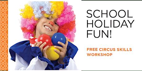 Circus Skills Workshop tickets