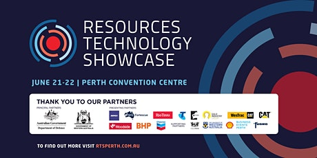 Resources Technology Showcase Perth: Sponsors Day tickets