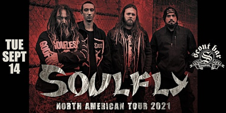 SOULFLY - North American Tour 2021 tickets
