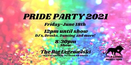 PRIDE Party 2021 tickets