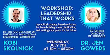 Leadership That Works tickets