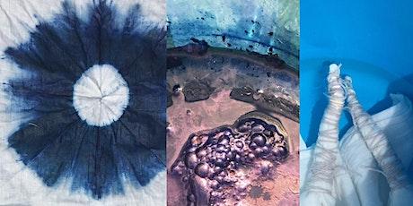 Shibori Design  & indigo dyeing for Kids(Noosa Hinterland/Cooroy) tickets