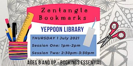 Zentangle Bookmarks @ Yeppoon Library tickets