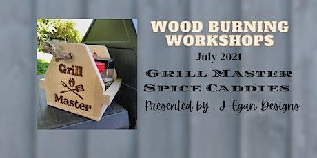 Wood Burning Workshops - July 2021 tickets