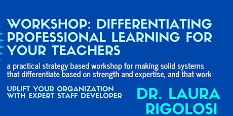 Differentiating Professional Learning tickets