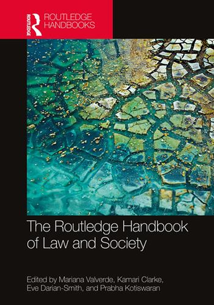 """Book Launch Webinar: """"The Routledge Handbook of Law and Society"""" image"""