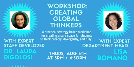 Creating Global Thinkers tickets
