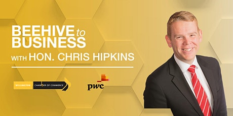 Beehive to Business with Hon. Chris Hipkins tickets