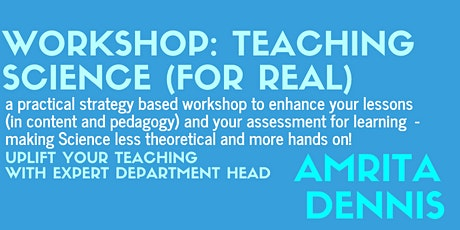 Teaching Science For Real tickets
