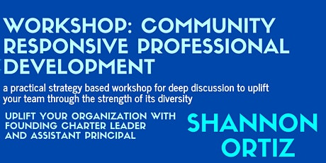 Community Responsive Pedagogy for Leaders tickets