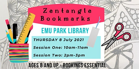 Zentangle Bookmarks @ Emu Park Library tickets