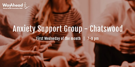 Chatswood Anxiety Support Group tickets