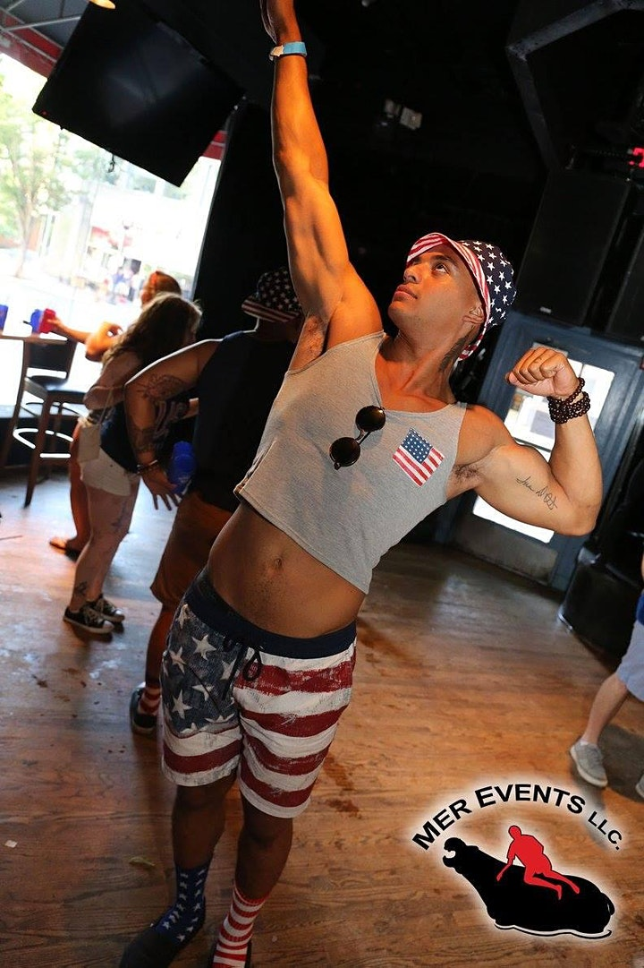 The All American (JULY 4th) Bar Crawl image