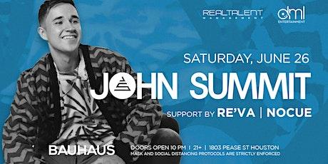 John Summit @ Bauhaus tickets