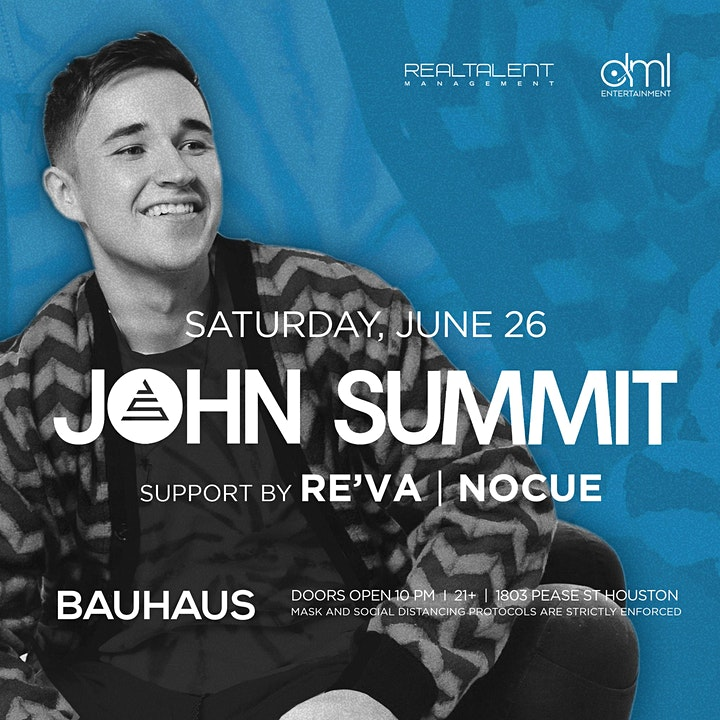 John Summit @ Bauhaus image