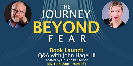 The Journey Beyond Fear- Book Launch Q&A tickets