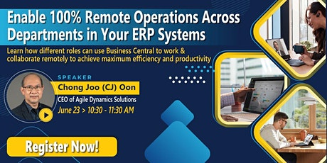 Enable 100% Remote Operations Across Departments in Your ERP System tickets