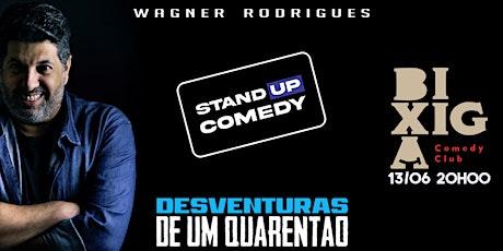 Desventuras de um Quarentão - Stand Up comedy ingressos