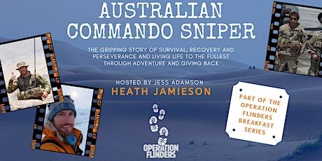 Operation Flinders Breakfast - Heath Jamieson, Australian Commando Sniper tickets