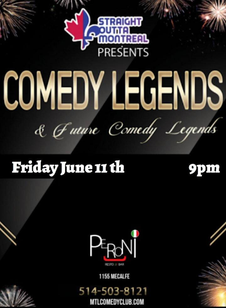 Comedy Legends ( Stand-Up Comedy ) MTLCOMEDYCLUB.COM image