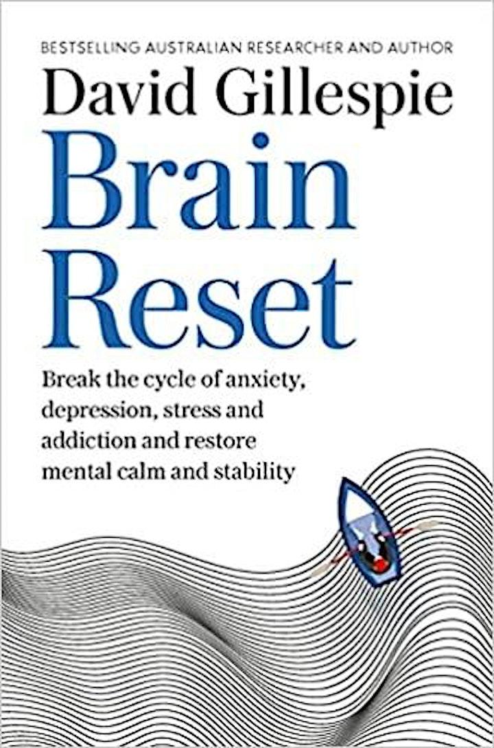 "Regional Parenting Service presents David Gillespie  - ""Brain Reset"" image"