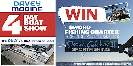 2021 Davey Marine Boat Show tickets