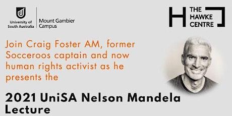Livestream: 2021 UniSA Nelson Mandela Lecture tickets